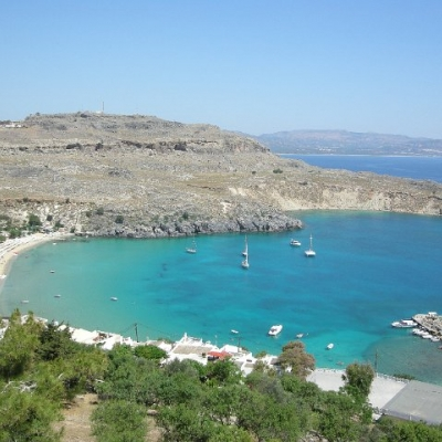 63. View from Lindos, Rhodes
