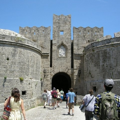 68. Crusader fortifications, city of Rhodes
