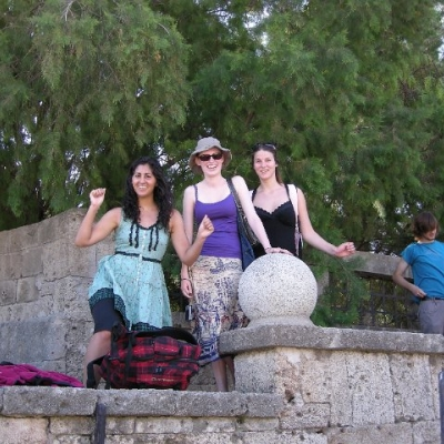 73. Happy students in Rhodes