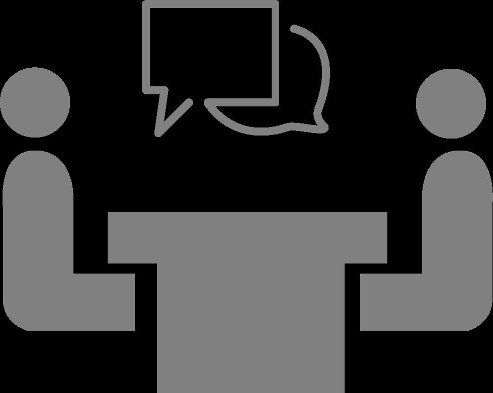 icon representing career advising
