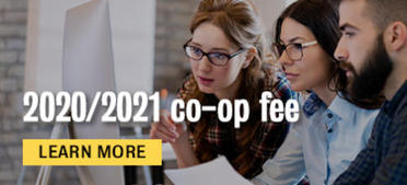 your 2020/2021 co-op fee