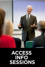 Access info sessions