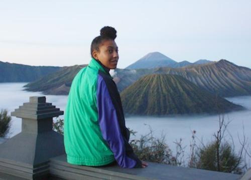 simone delaney in indonesia