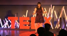 Christina Marchand speaks at TEDxUW