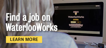 Find a job on waterlooworks