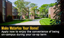 Make Waterloo your home!