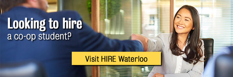 If you are an employer, visit us at HIRE Waterloo