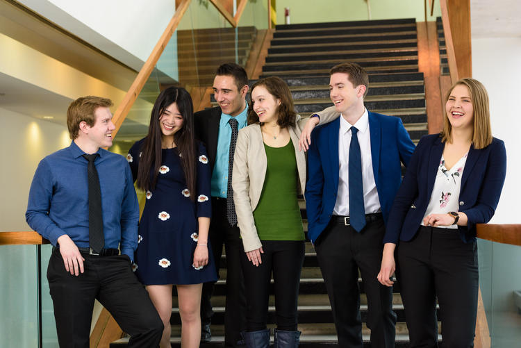 Waterloo's 2017 Co-op Student of the Year winners