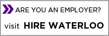 Are you an employer? Visit Hire Waterloo image button