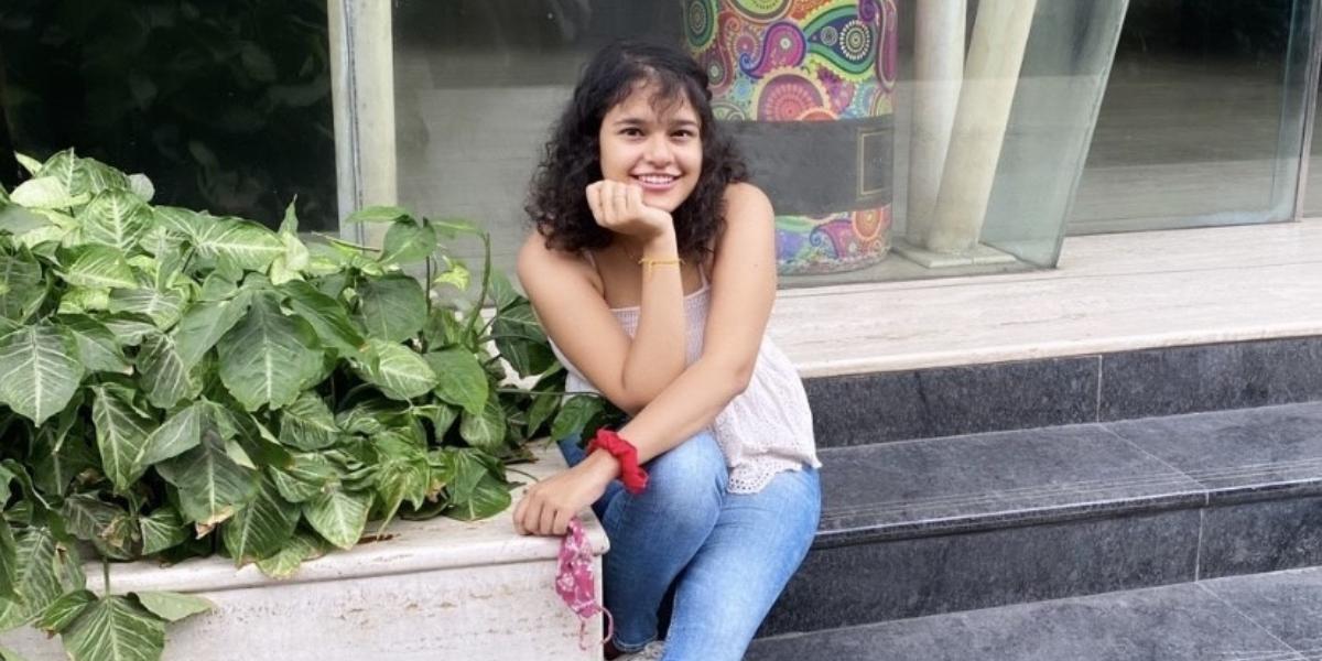 University of Waterloo Arts co-op student, Sharanya smiling