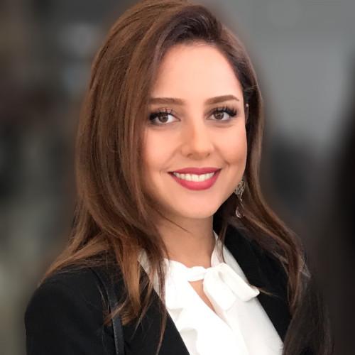 Dr. Helia Mohammadi smiling