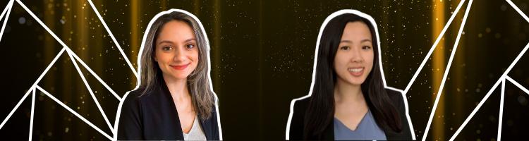 Outstanding Young Investigator Award winners: Tara Berhoozian and Emily Lam