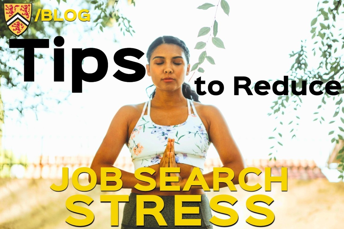 Tips to reduce job search stress