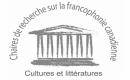 chaires de recherche sur la francophone logo