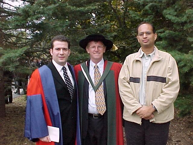 Michele Mosca, Scott Vanstone and Alfred Menezes