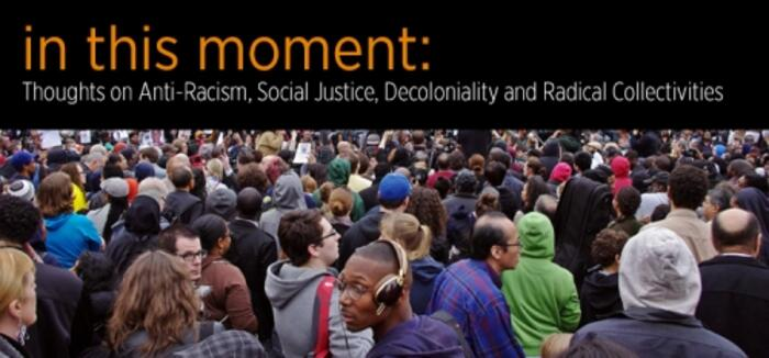 In This Moment lecture banner advertisement