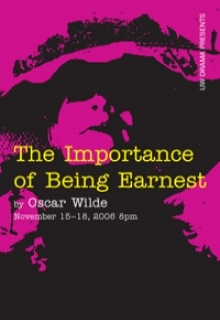 The Importance of Being Ernest poster