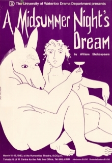A Midsummer Night's Dream 1983 Poster