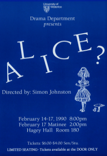 Alice? Poster