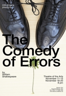 The Comedy of Errors poster