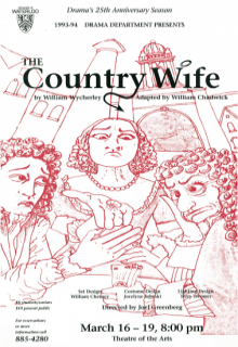 The Country Wife Poster