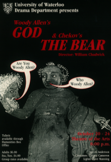 God & The Bear Poster