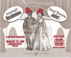 Good Night Desdemona (Good Morning Juliet) Poster