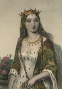 Portrait of Margaret of Anjou, Queen of England.