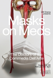 Masks on Meds poster