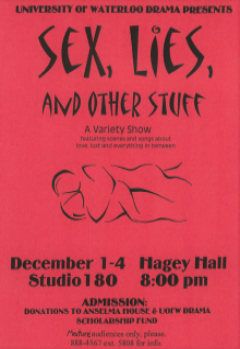 Sex, Lies, And Other Stuff Poster