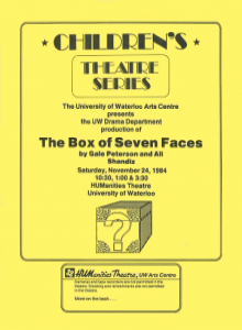 The Box of Seven Faces Poster