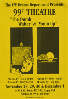 The Dumb Waiter & Moon Up Poster