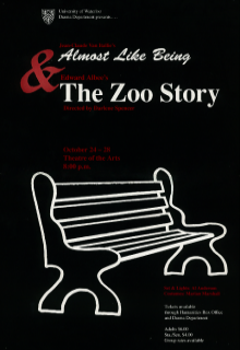 Almost Like Being & The Zoo Story poster