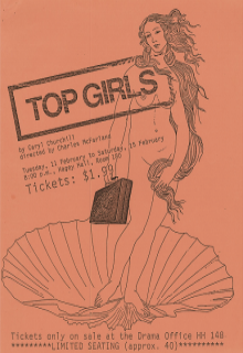 Top Girls 1986 Poster