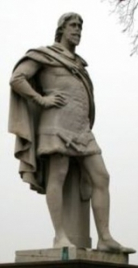 Statue of William De La Pole, Earl of Suffolk.