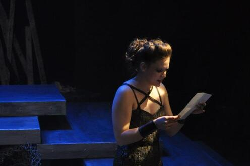Lady Macbeth reads her letter