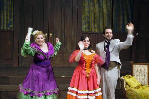 Actors in costume