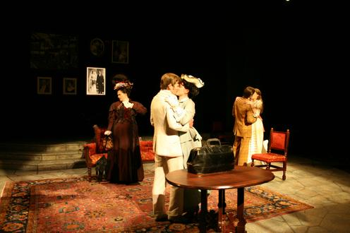Earnest performance picture