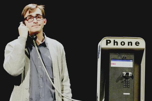 Simon makes a call