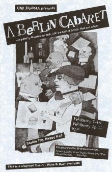 A Berlin Cabaret Poster