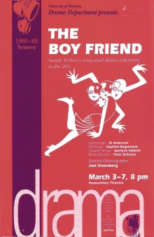 The Boy Friend Poster
