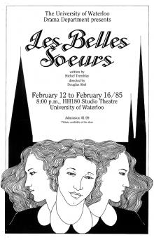 Les Belles Soeurs 1985 Poster
