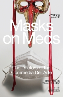 Masks on Meds poster