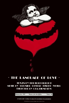 The Language of Love 1988 poster