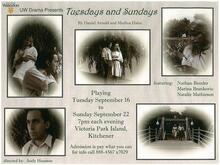 Tuesdays and Sundays Poster