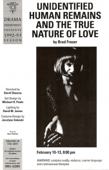 Unidentified Human Remains and The True Nature of Love Poster