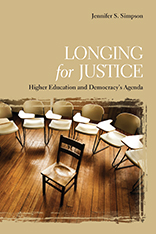 Longing for Justice: Higher Education and Democracy's Agenda book cover