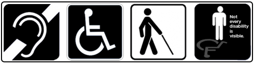 accessibility icon banner