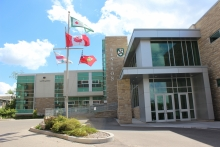 front entrance of renison university college