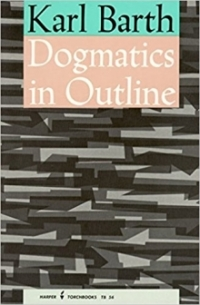 dogmatics in outline book cover